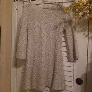 Free people mini sweater dress